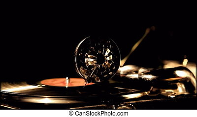 Phonograph - Retro portable phonograph