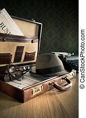 Phoreporter vintage briefcase