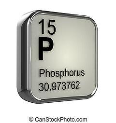 phosphore, 3d, élément