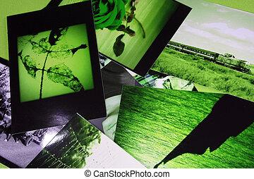 Photo Album with some photos.
