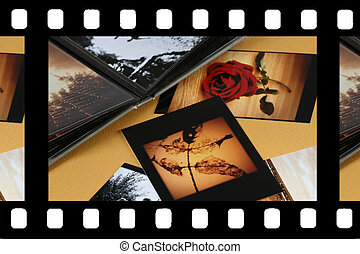 Photo Album with copy space. Great details!
