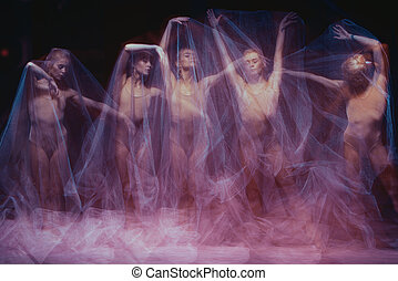 photo as art - a sensual and emotional dance of beautiful...