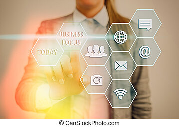 photo, attention, conceptuel, business, projection, texte, besoins, servir, details., client, foyer., signe, entiers