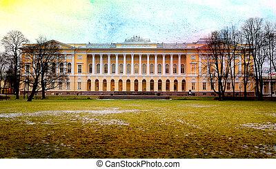 Photo beautiful Russian Museum