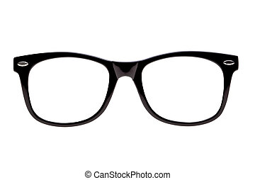 Photo Black nerd spectacle frames - Photo of Black spectacle...
