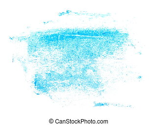 photo blue brush strokes oil paint