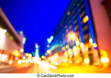 photo, bokeh, fond, lumières