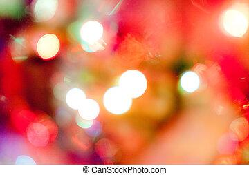 photo, bokeh, lumières