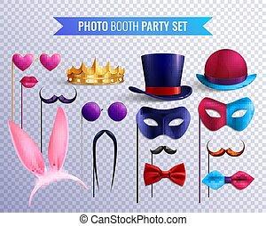 Photo Booth Masks Set