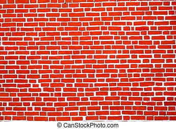 Photo brick old wall
