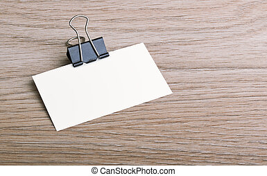 business card - Photo; business card. Template for branding...