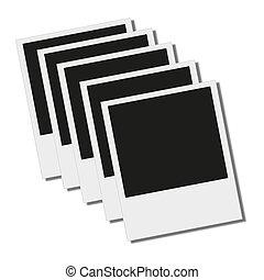 noir cadre polaroid isol dessin rechercher des illustrations clipart et des images. Black Bedroom Furniture Sets. Home Design Ideas