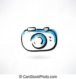 photo camera grunge icon