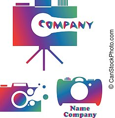 Photo camera icon of vector illustration for web and mobile