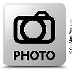 Photo (camera icon) white square button