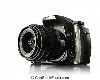camera - photo camera isolated on white