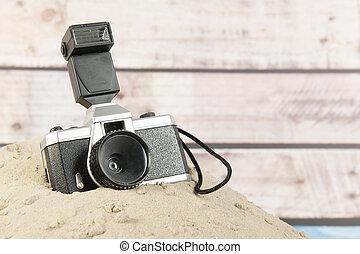 Photo camera on vacation - Photo camera for travel around...