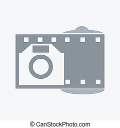 Photo camera or emblem