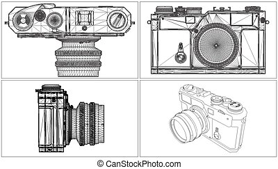 Photo Camera Vector 06.eps