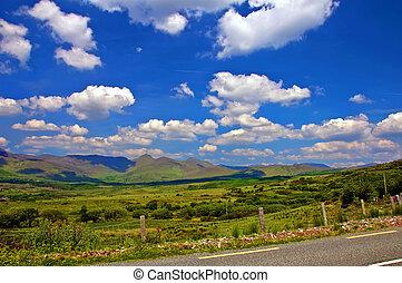 capture of vibrant countryside scenic landscape