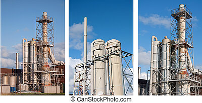 photo chemical industrial plant
