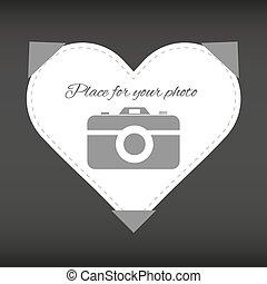 """photo"""", coeur, """"place, ton"""