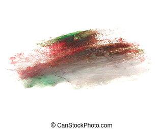 grunge brush strokes oil paint