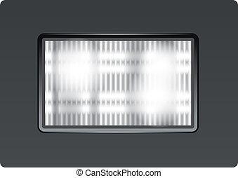 Photo Flash Light - Vector photo flash light for app icons