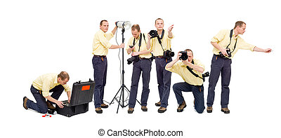 photo, flot travail