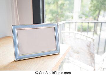 photo frame at room