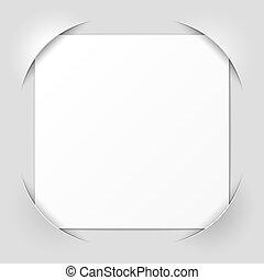 Photo frame corners vector illustration