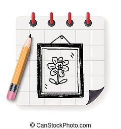 photo frame Doodle