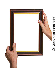 Photo Frame in the hands
