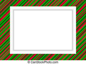 Photo frame in X-mas style