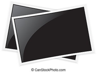 Photo frame, vector illustration