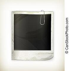 Photo frame, vector