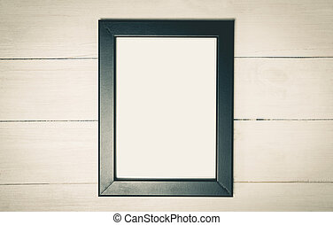 Photo Frame with white copy space.