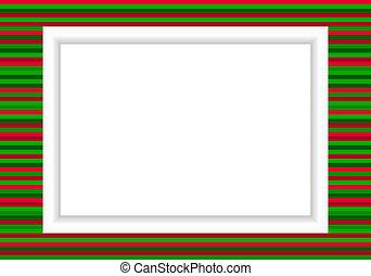 Photo frame - Xmas style