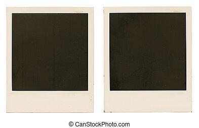 Photo frames isolated