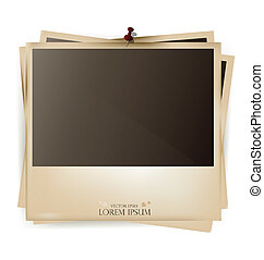 Photo frames- vector illustration.