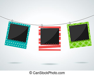 Photo frames - Vector photo frames