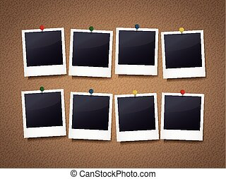 photo frames with pin