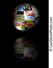 photo globe