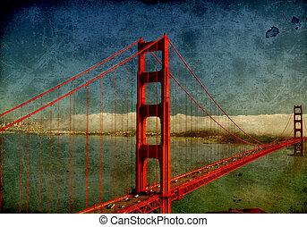 photo golden gate bridge, san francisco, ca, usa