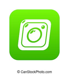 Photo icon green