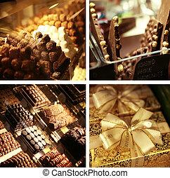 Photo illustration of marvelous sweets