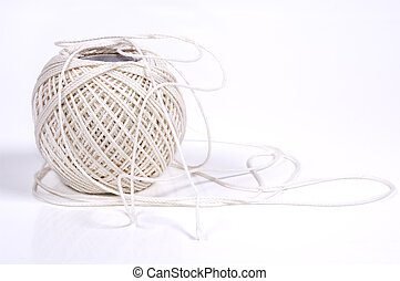 String - Photo of a Ball of String