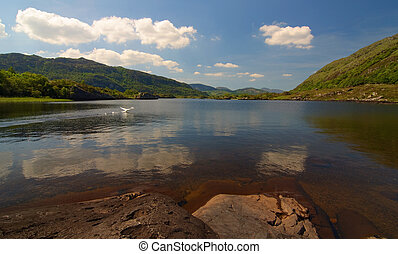 beautiful scenic irish landscape