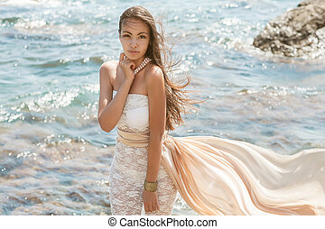 Photo of a beautiful young woman