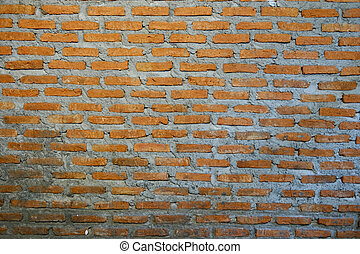 Photo of a brick wall on a building